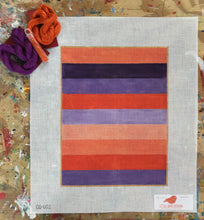 CS-002 Purple and coral stripes