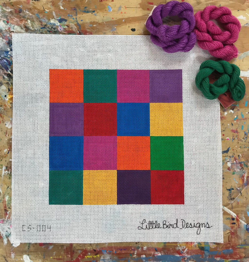 CS-004 Multicolored squares