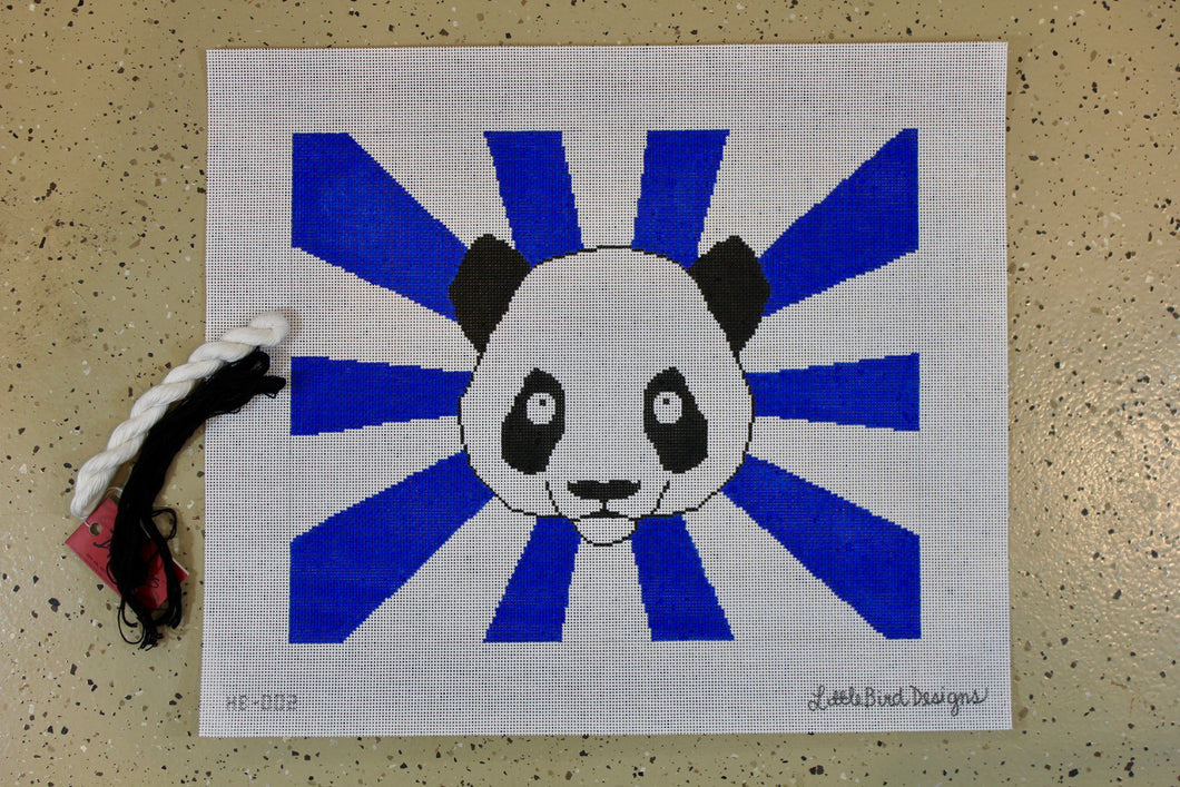 HB-002 Panda bear with blue rays