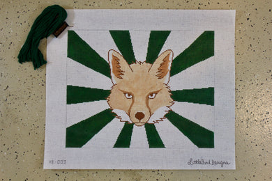 HB-003 Fox with green rays