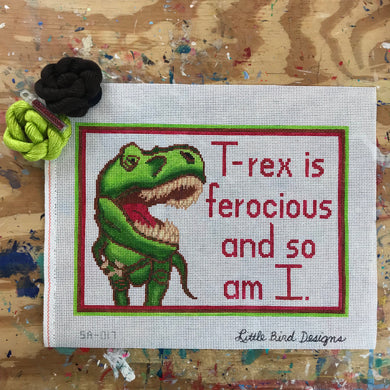 SA-017 T-rex is ferocious and so am I.