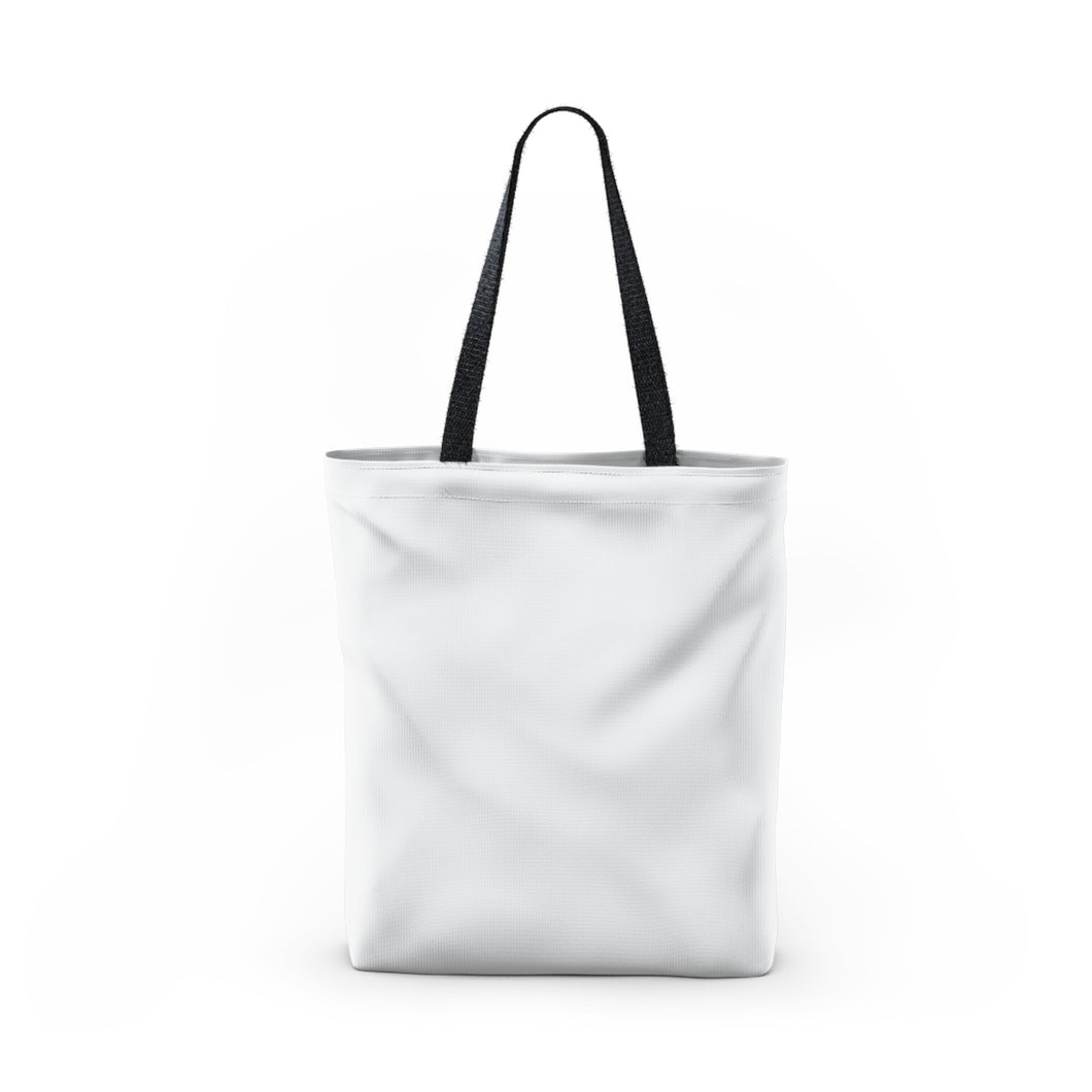 BADASS with rainbow stars - Tote Bag