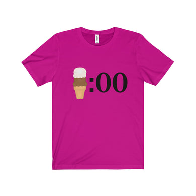 It's ice cream o'clock - Unisex Jersey Short Sleeve Tee