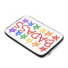 BADASS with rainbow stars - Laptop Sleeve