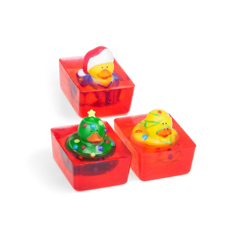 Christmas Lights Duck Toy Soap