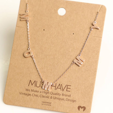 Dainty Mommy Necklace
