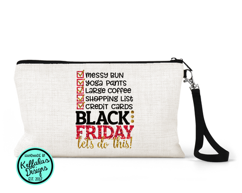 Black Friday Wristlet