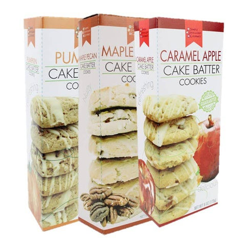 Fall Cake Batter Cookies 6oz