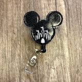 Mickey Castle Badge Reel
