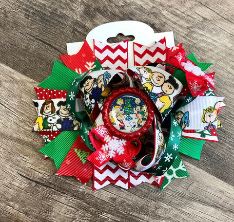 Charlie Brown Christmas Bow