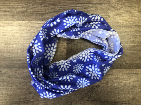 Gaiter Mask - Periwinkle Flower