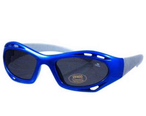 Boys Racing Sunglasses- Blue