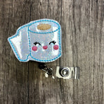 2020 Toilet Paper Badge Reel
