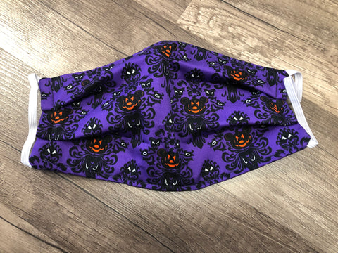 Haunted Mansion Pumpkin Mickey Mask