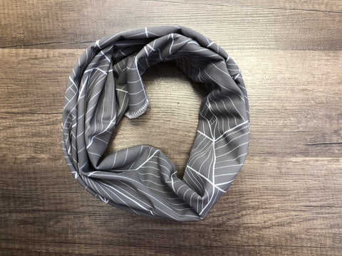 Gaiter Mask - Grey Geometric