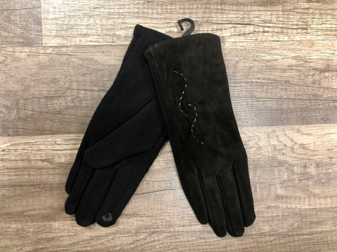 C.C. Beanie Adult Suede Glove with SmartTips Technology