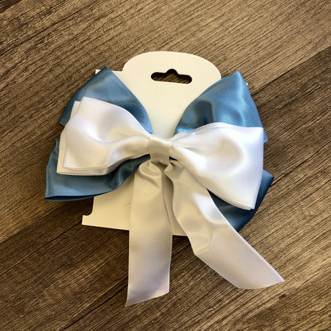 Blue Dress Belle Inspired Bow
