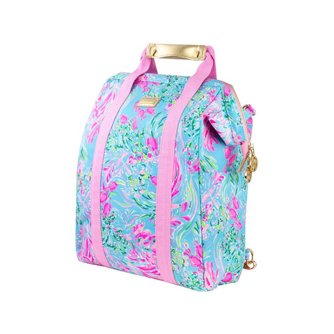 Lilly Pulitzer Picnic Cooler Back Pack, Best Fishes