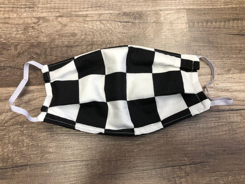 Checkered Flag Mask