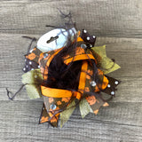 Fall Leaves Large Boutique Bow
