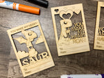 Dino Valentine DIY Kit