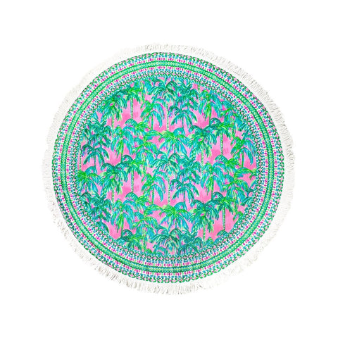 Lilly Pulitzer Round Beach Towel, Suite Views