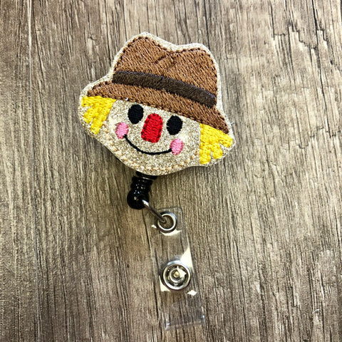 Scare Crow Badge Reel