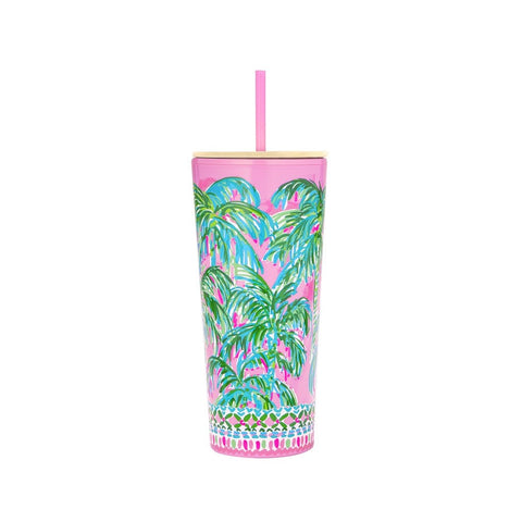 Lilly Pulitzer Tumbler with Straw, Suite Views