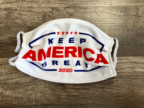 Keep America Great Trump 2020 Mask