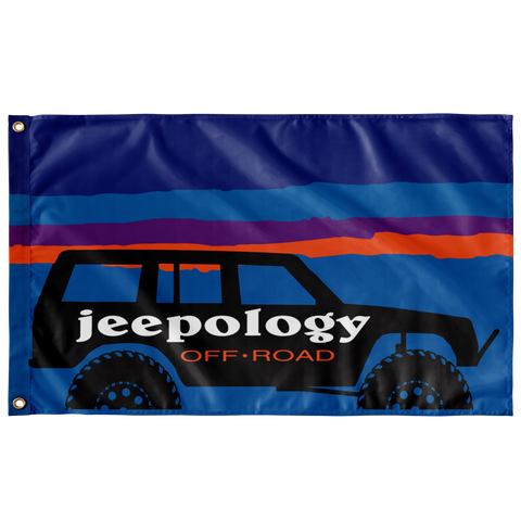 Jeepology Offroad Flag