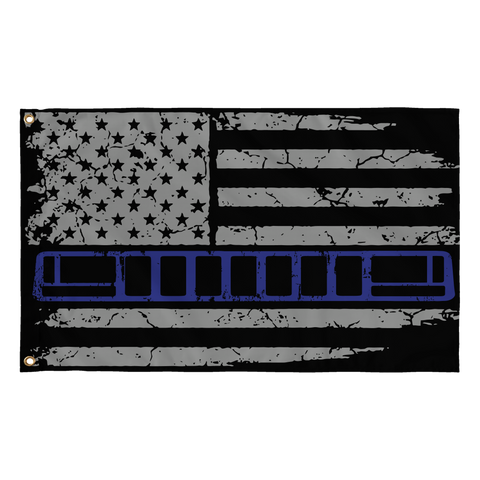 ZJ Blue Stripe flag