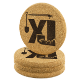 XJ Tools of the Trade - Cork Coaster Set