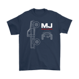 MJ Comanche Blueprint - Gildan loose fit
