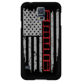 XJ Red Stripe Flag Phone Case