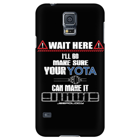 Wait here... Phone case