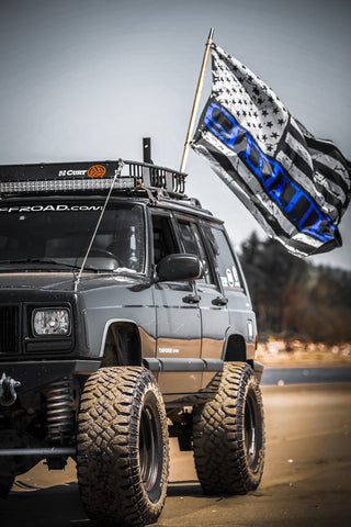 XJ Blue Stripe Flag