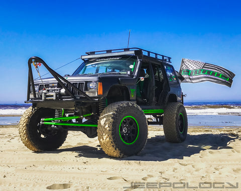 XJ Green Stripe flag