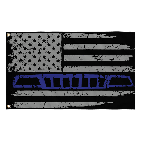 WJ Blue Stripe flag