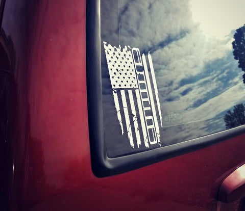 XJ Flag decal pack