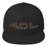4.0L - Black/Gold outline