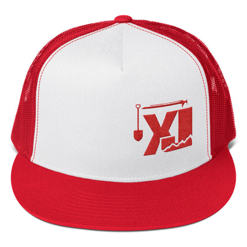 XJ Tools of the Trade Trucker - RED