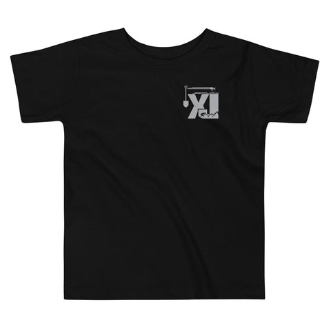XJ Flag Blue Stripe - Toddler Tee