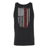 Jeep XJ Red Stripe Flag shirt