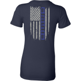 Jeep XJ Blue Stripe Flag shirt
