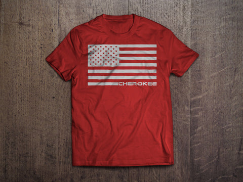 Cherokee Flag shirts