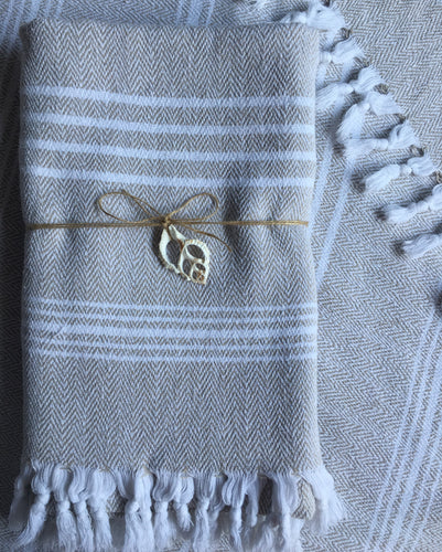 Turkish Towel - Super Soft 100% Thick Organic Cotton, Super Huge 40