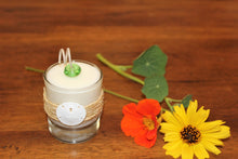 Nautical Sisal & Sand Dollar Design ~ Coconut Soy Wax Round Votive Candle