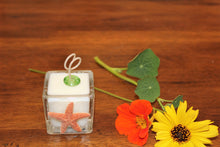 Natural Starfish Design ~ Coconut Soy Wax Square Votive Candle