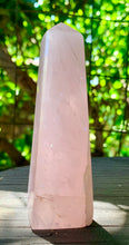 Rose Quartz Specimen Tower OR Obelisk