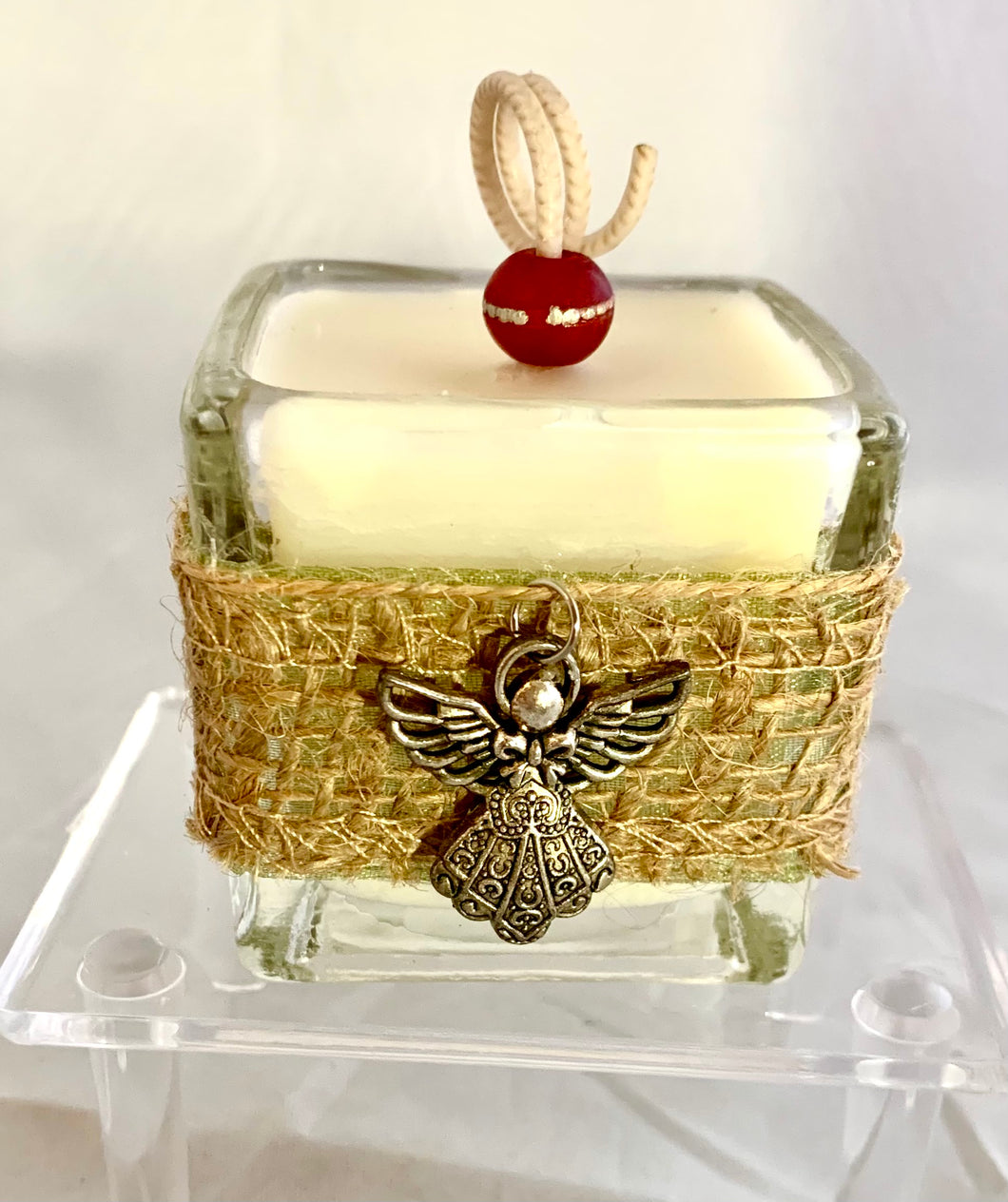 Angel Charm Holiday Votive Candle